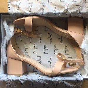 Lulus Harper Almond Ankle Strap Heels - brand new